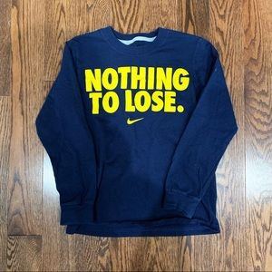 {Nike} Long Sleeve T-shirt, S